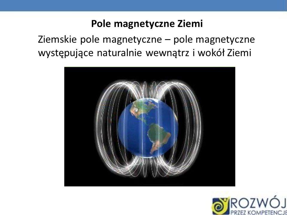 Siła elektrodynamiczna Siła, która działa na przewodnik elektryczny, przez który płynie prąd elektryczny, umieszczony w polu magnetycznym.