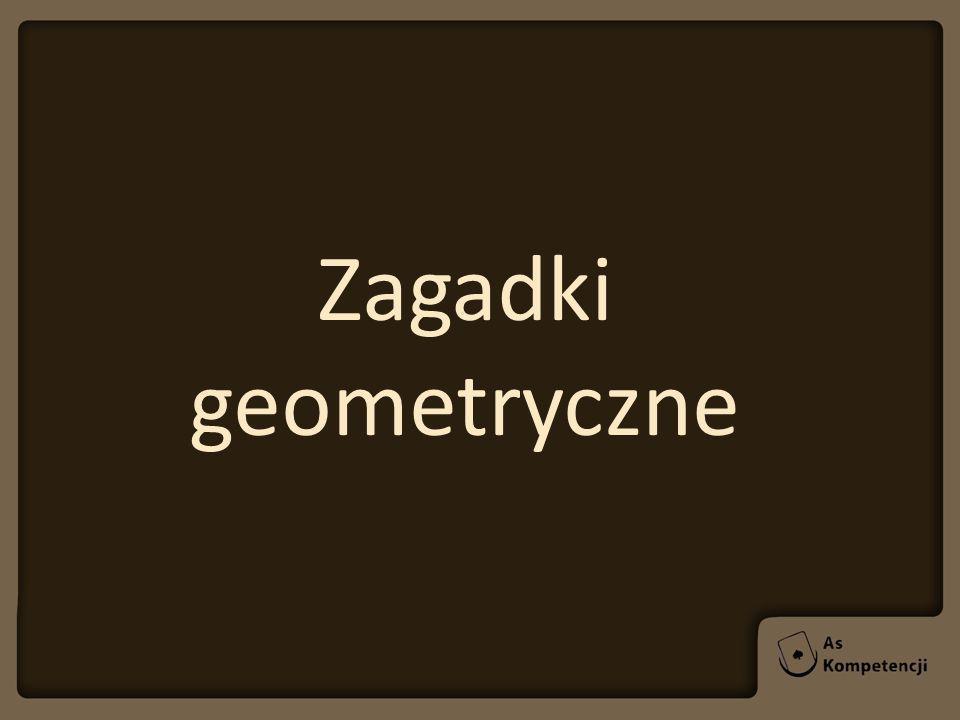 Zagadki geometryczne