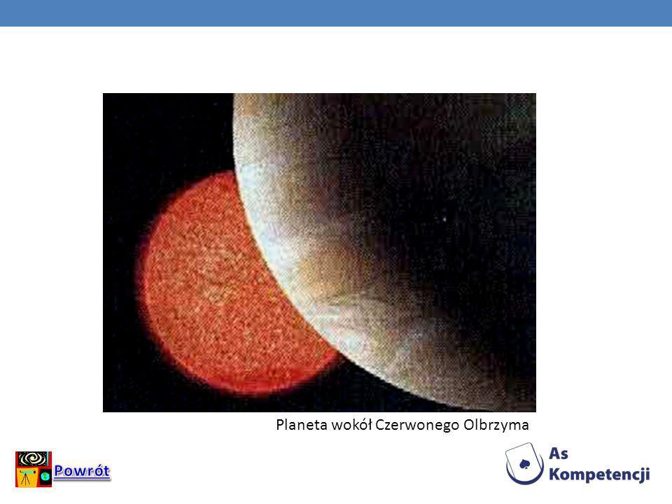 Planeta wokół Czerwonego Olbrzyma