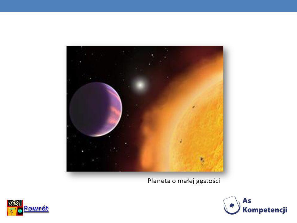 Planeta o małej gęstości
