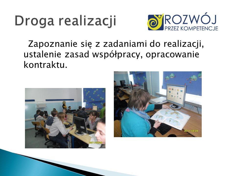 Środowisko przyrodnicze obszarów okołobiegunowych – podział na grupy i tworzenie prezentacji multimedialnych na dany temat.