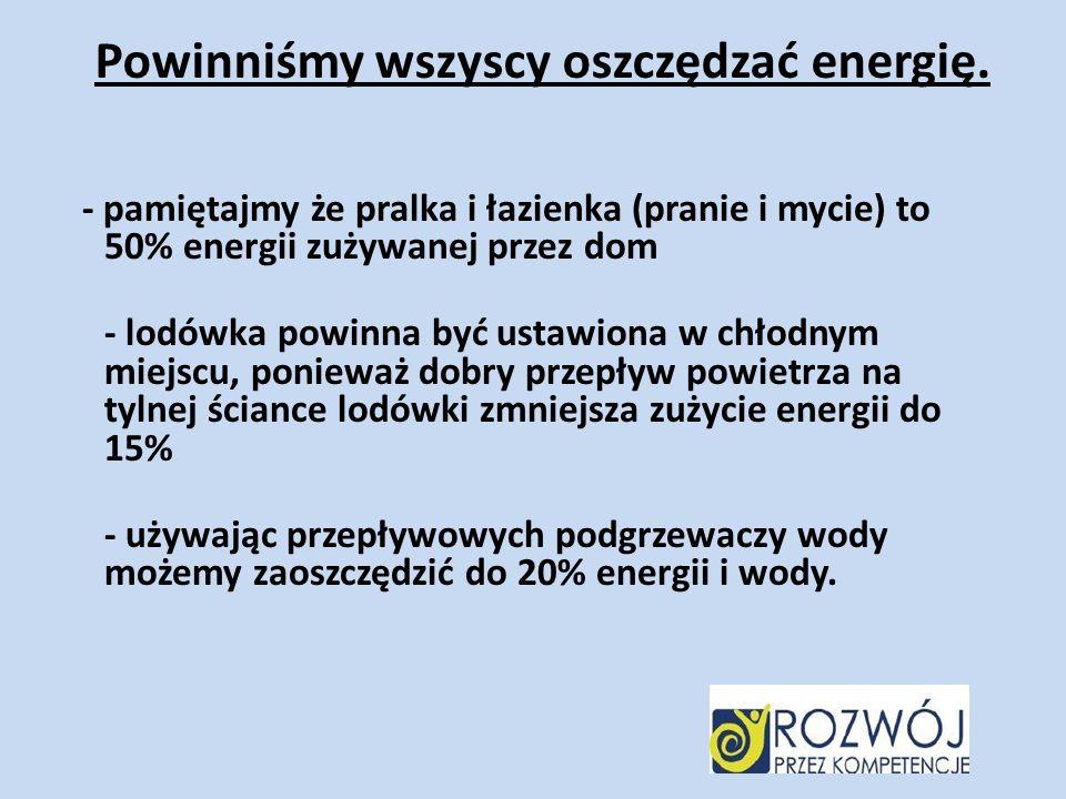 Zatem czy warto oszczędzać energię, czy wyjdzie to na dobre dla ludzkości.