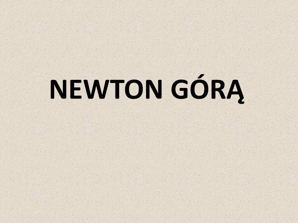 Jak głosi popularna anegdota Newton obserwował w ogrodzie spadające z drzew jabłka i jedno spadło mu na głowę.