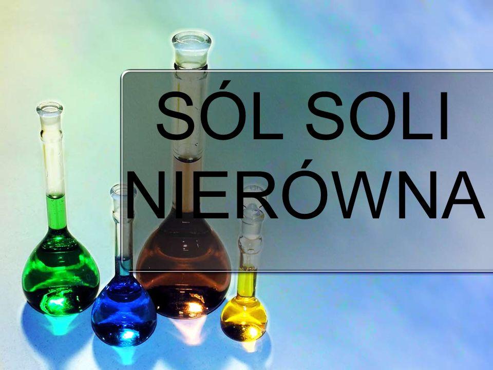 Najczęściej stosowaną solą w medycynie to : -chlorek sodu – jako 0.9% roztworu to po prostu sól fizjologiczna, czyli roztwór izotoniczny w stosunku do osocza.