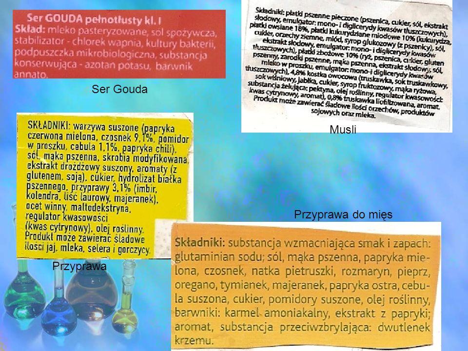 Zastosowanie soli w gospodarstwie domowym: -środki spulchniające do ciast /NaHCO3 /- wodorowęglan sodu, /NH4/2CO3-węglan amonu -środki konserwujące/KNO3-azotan /V/potasu / -dodatki smakowe /NaCL-chlorek sodu czyli sól kuchenna / -składniki napojów gazowanych /NaHCO3- węglowodan sodu / -środki odkażające /KMnO4-manganian /VII/ potasu / -surowce do produkcji proszków do prania, mydeł, pasty do zębów /Na2CO3 -węglan sodu / Jest stabilizatorem energetycznym każdej komórki.