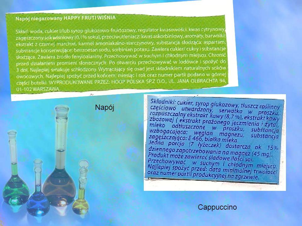 Przykłady niektórych leków