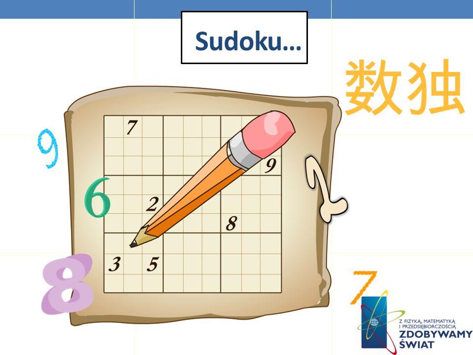Sudoku…