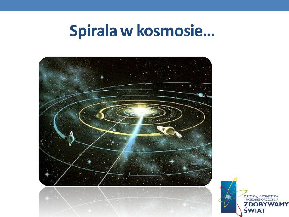 Spirala w kosmosie…