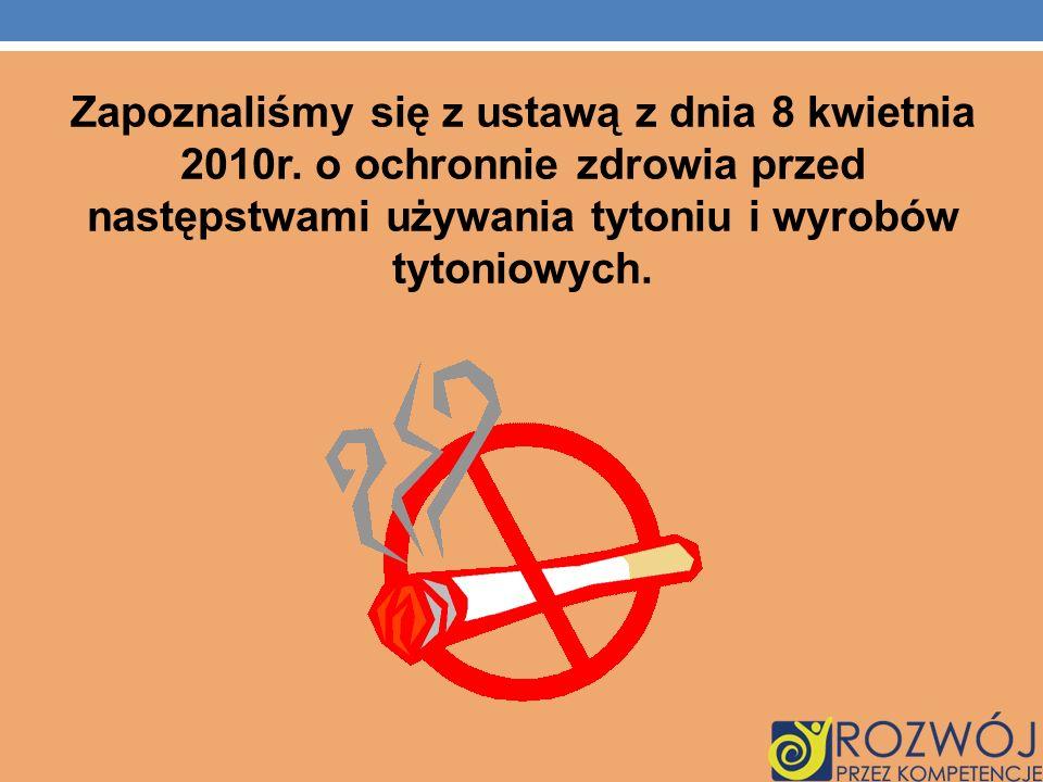 Zapoznaliśmy się z ustawą z dnia 8 kwietnia 2010r.
