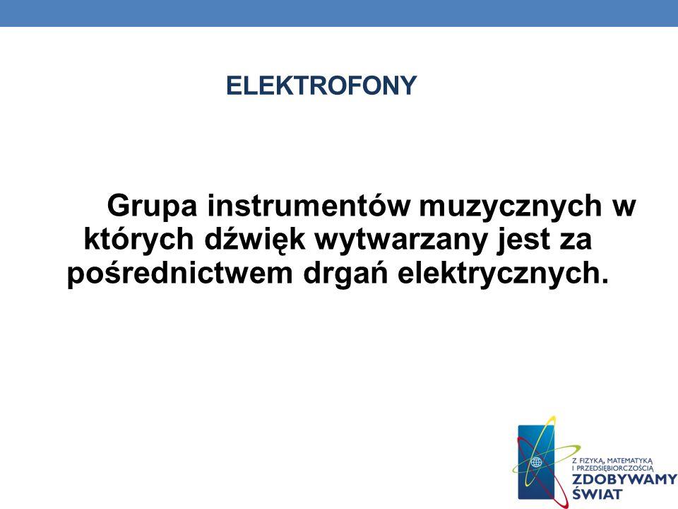 Instrumenty elektroniczne