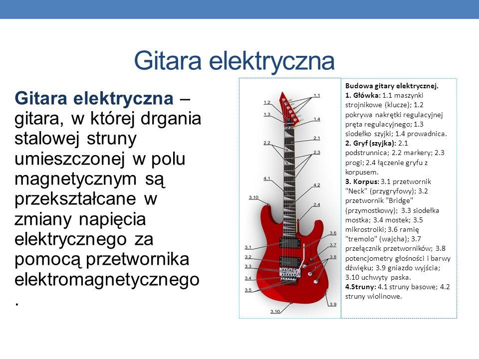 W zależności od sposobu wytwarzania tych drgań wyróżnia się: elektromechaniczne instrumenty muzyczne - w których wytwarzanie drgań odbywa się na drodz