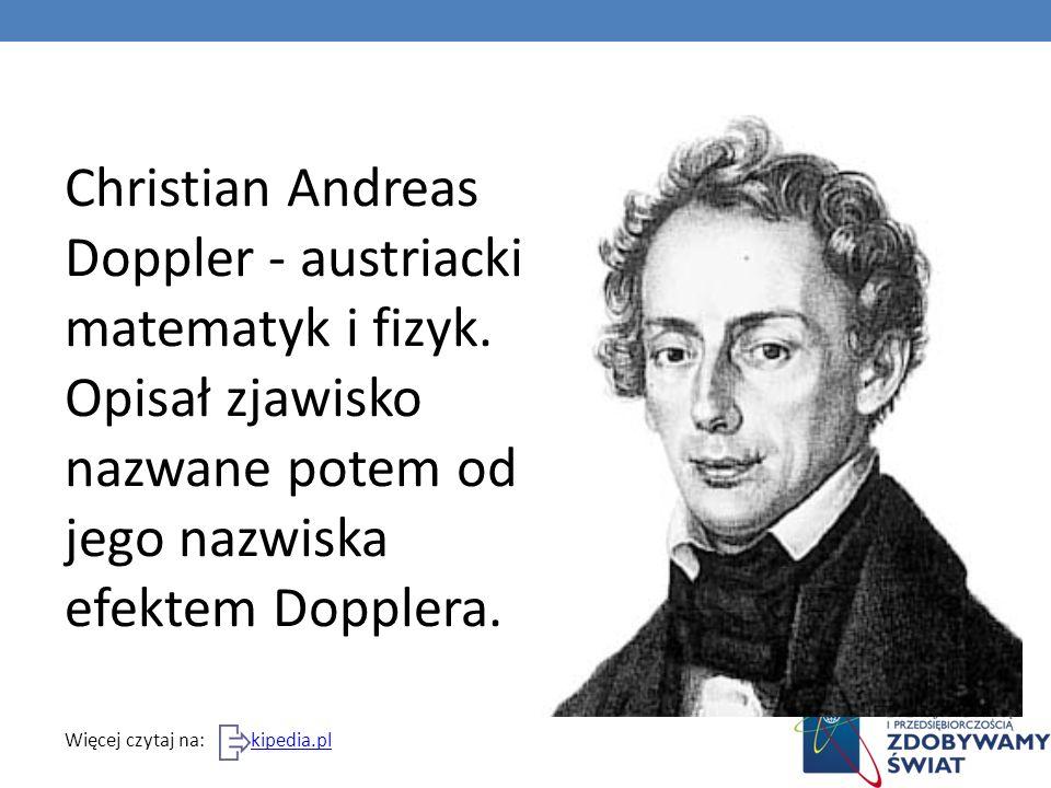 Kim był Doppler?