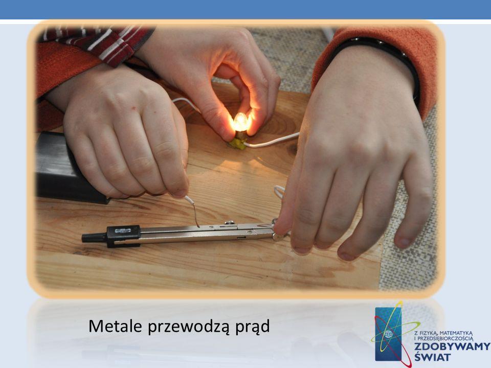 Metale przewodzą prąd