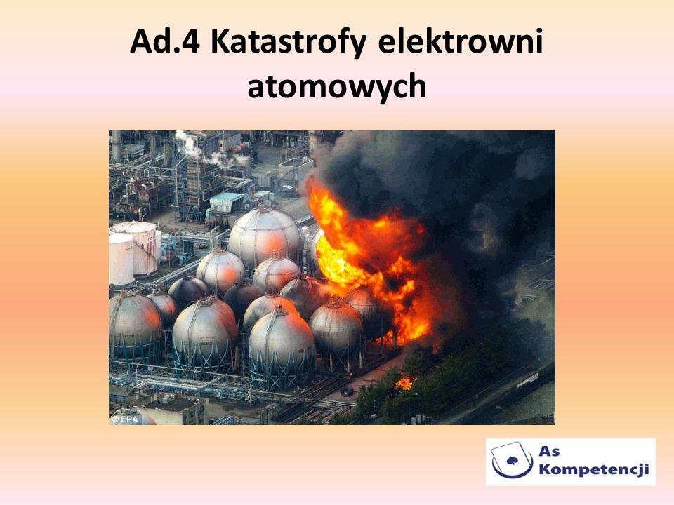 Ad.4 Katastrofy elektrowni atomowych