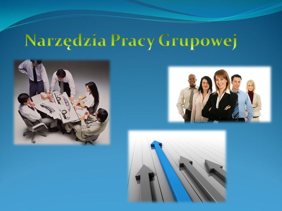 Praca Grupowa : Praca grupowa to w największym skrócie wspólna praca nad dokumentami, wymiana wiadomości elektronicznych, udział w wymianie informacji i dyskusjach, wypełnianie elektronicznych formularzy, wspólny dostęp do zbiorów informacji, planowanie czasu i terminarze zespołowe.