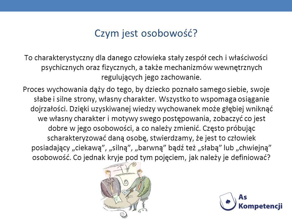źródła http://www.socjologia.xcq.pl/pojecie-i-komponenty-osobowosci-spolecznej.html http://www.sciaga.pl/tekst/43785-44-osobowosc_spoleczna