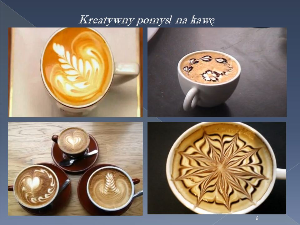 Kreatywny pomys ł na kaw ę 6