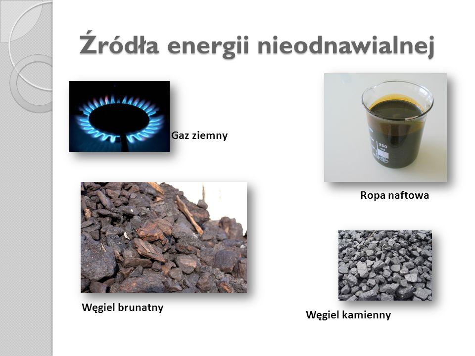 Struktura wykorzystywania źródeł energii w Polsce i ich wpływ na stan środowiska przyrodniczego Produkcja i wykorzystywanie energii stwarza od lat wiele problemów w różnych regionach świata.