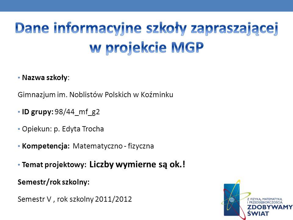 Źródła: *Policzmy to razem zbiór zadań -Janowicz Jerzy Matematyka z plusem – podr.
