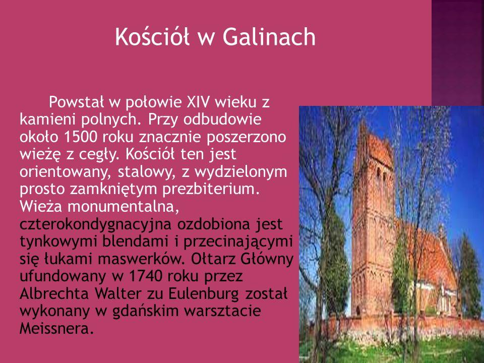 Powstał w połowie XIV wieku z kamieni polnych. Przy odbudowie około 1500 roku znacznie poszerzono wieżę z cegły. Kościół ten jest orientowany, stalowy