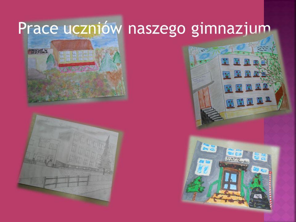 Prace uczniów naszego gimnazjum