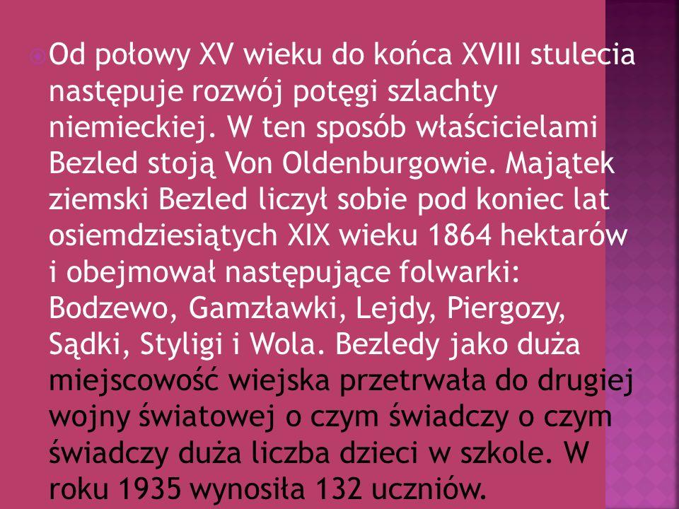 Straż Graniczna w Bezledach została utworzona 12.10.1990r 16.05.1991r ukazało się zarządzenie MSW nr.47 o rozformowaniu WOP i przekazanie całego mienia Straży Granicznej.