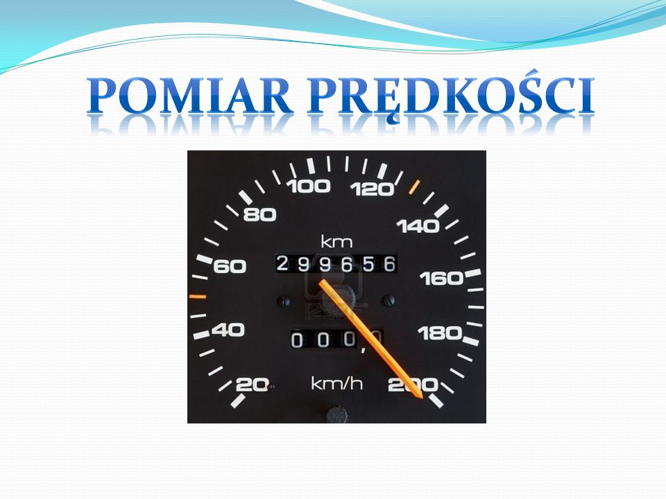 Prędkość średnia: Prędkość średnia: iloraz drogi i czasu, w którym droga ta została pokonana.