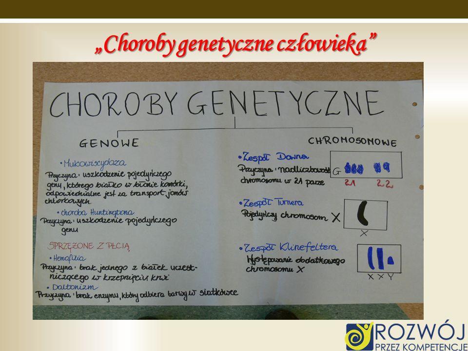 Choroby genetyczne człowieka