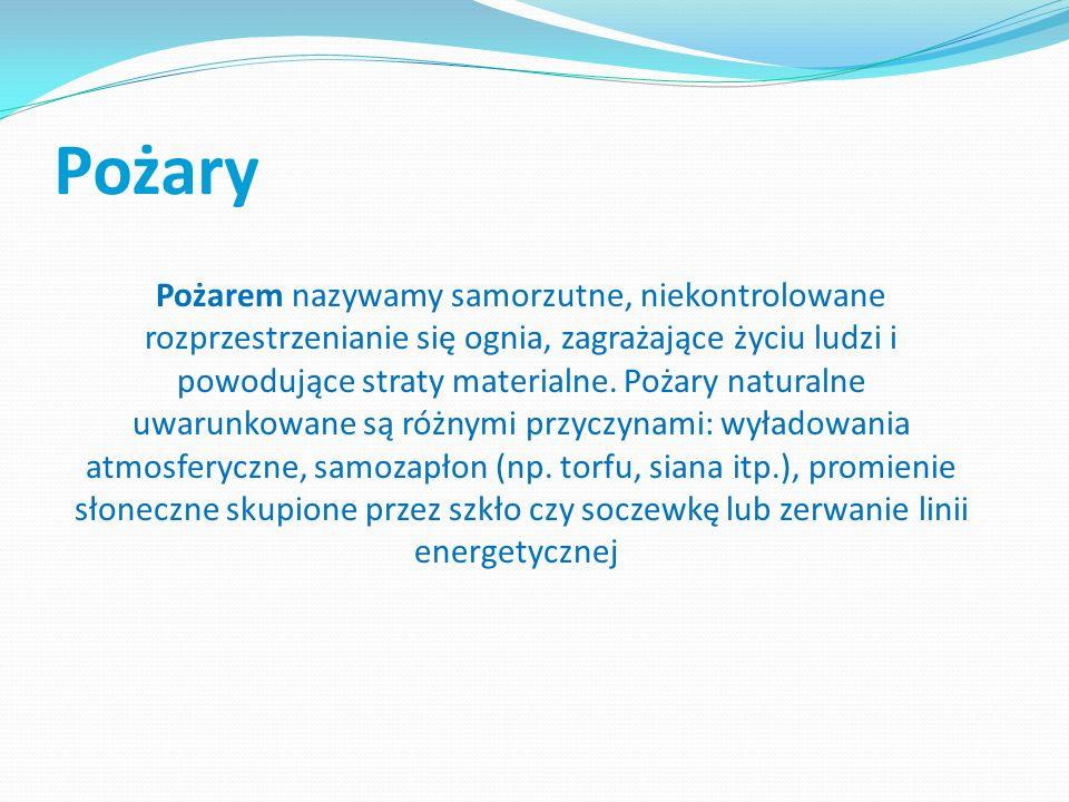 Skutki powodzi · konieczność zapewnienia wody dla ludności przede wszystkim zdatnej do picia, · przenoszenie do łańcucha pokarmowego bakterii chorobotwórczych, substancji chemicznych i toksyn, · odległe skutki dotyczące mórz gdzie spływa fala powodziowa (w Polsce dotyczy to Bałtyku w zlewisku którego leży cały nasz kraj), · znaczne straty materialne, · straty zdrowotne i moralne