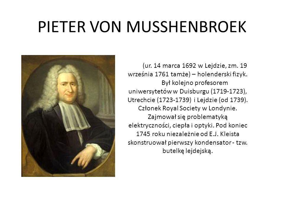 (ur. 14 marca 1692 w Lejdzie, zm. 19 września 1761 tamże) – holenderski fizyk. Był kolejno profesorem uniwersytetów w Duisburgu (1719-1723), Utrechcie