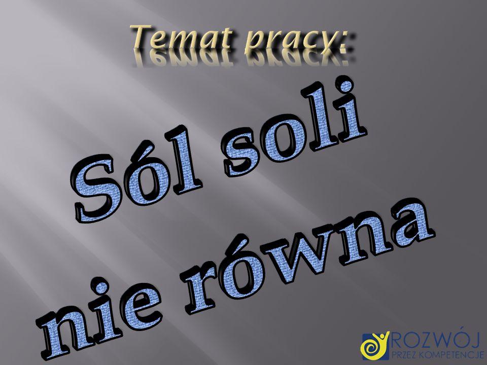 Wyróżnia się: sole nasycone sole nasycone - w których nie występują ani grupy hydroksylowe, ani kwaśne atomy wodoru; sole nienasycone sole nienasycone - które dzieli się na: wodorosolesole kwaśne wodorosole lub inaczej sole kwaśne, powstają z kwasów, w których cząsteczkach nie wszystkie atomy wodoru zostały zastąpione atomami metalu.