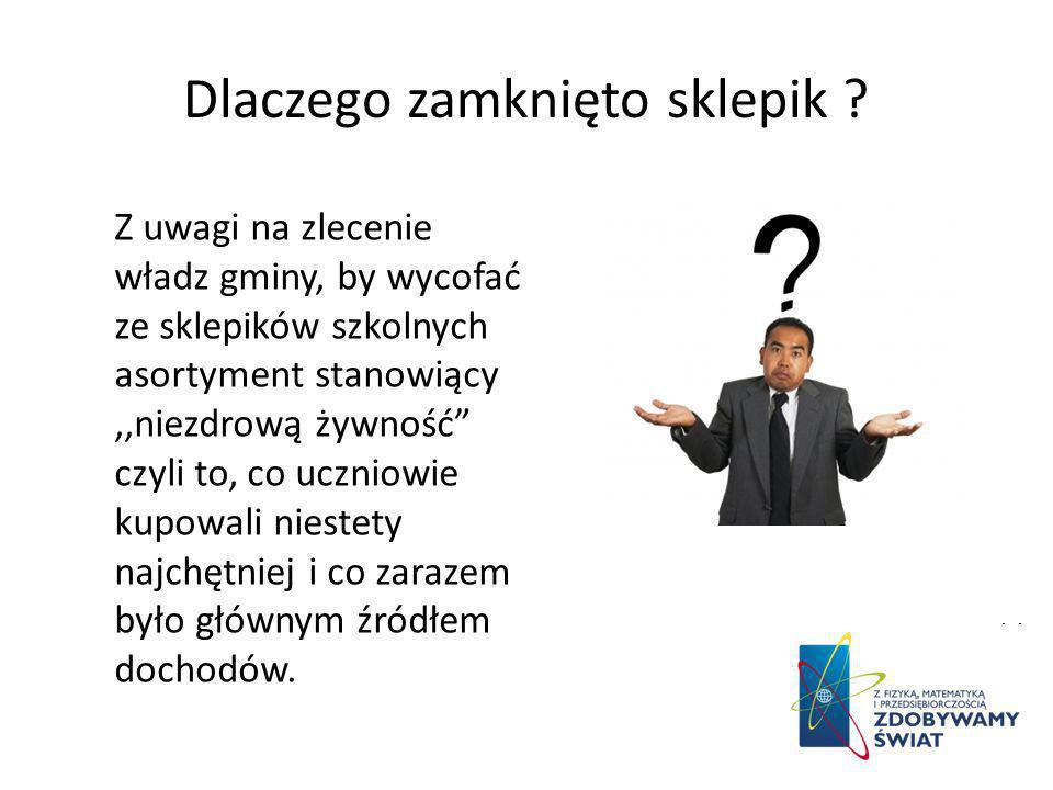 Przekazanie pałeczki - szukanie następców. Naszą działalność przekażemy w ręce klasy I gimnazjum.
