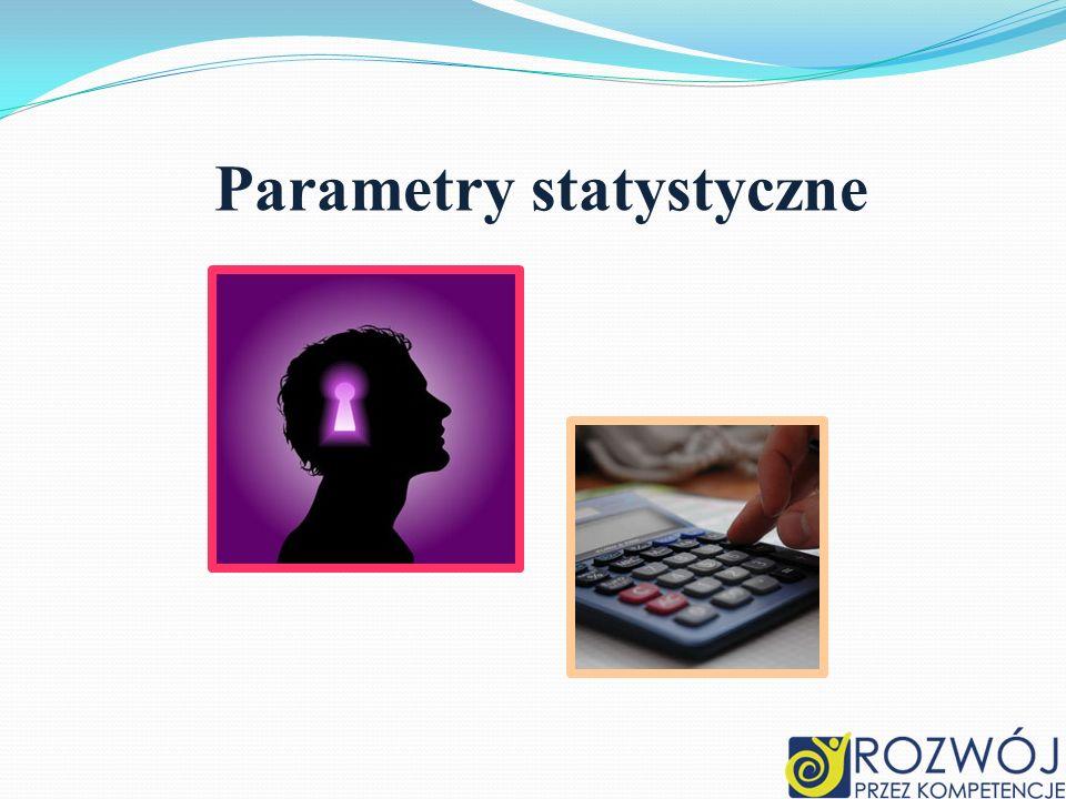 Średnia arytmetyczna Średnia arytmetyczna jest najbardziej intuicyjną miarą oceny populacji stosowaną w codziennym życiu.