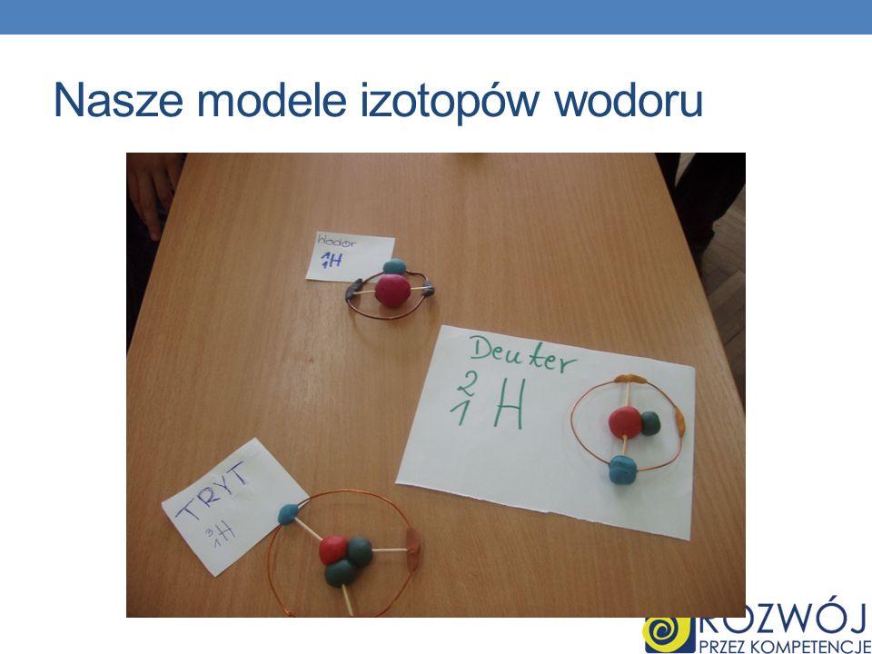 Nasze modele izotopów wodoru