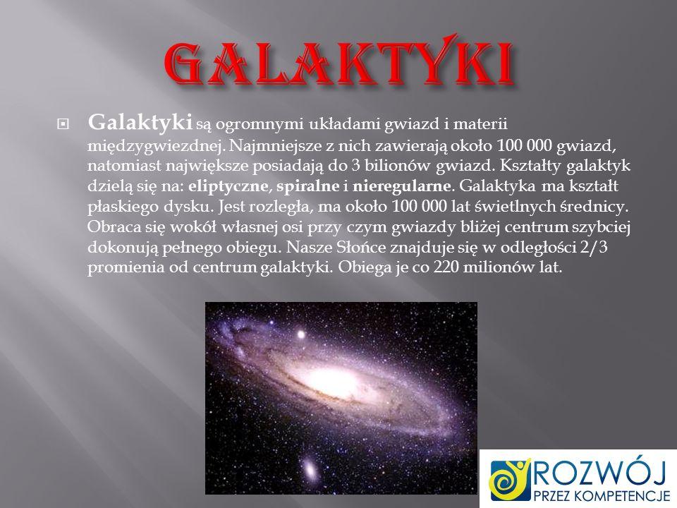 Droga Mleczna – galaktyka spiralna z poprzeczką, w której znajduje się m.in.