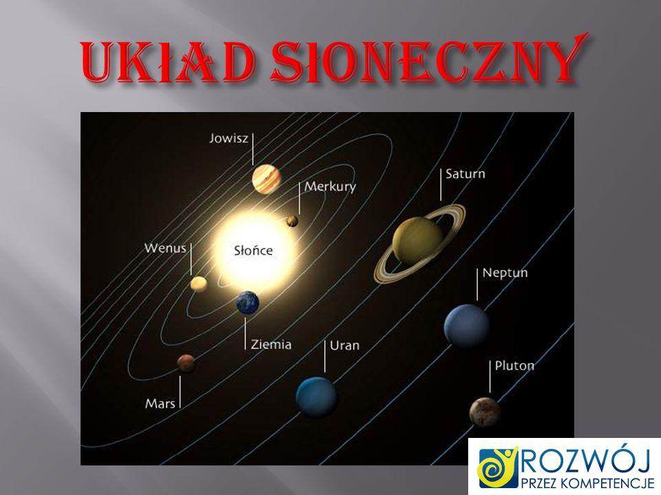 Układ Słoneczny – układ planetarny składający się ze Słońca i powiązanych z nim grawitacyjnie ciał niebieskich.
