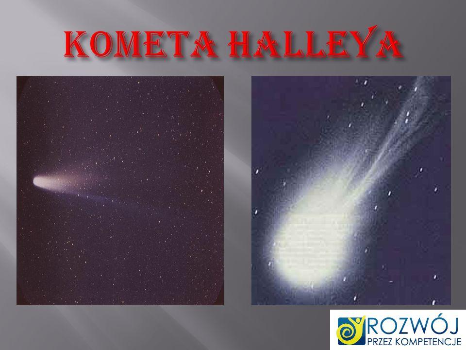 Kometa Halleya – najbardziej znana kometa krótkookresowa.