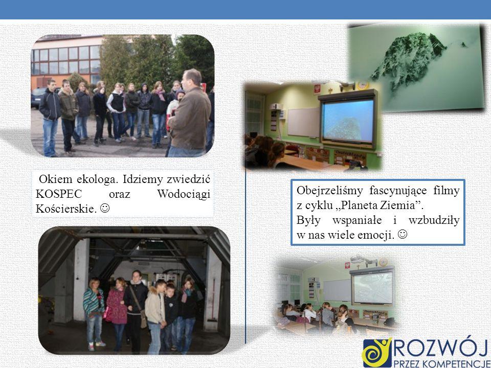 Okiem ekologa. Idziemy zwiedzić KOSPEC oraz Wodociągi Kościerskie.