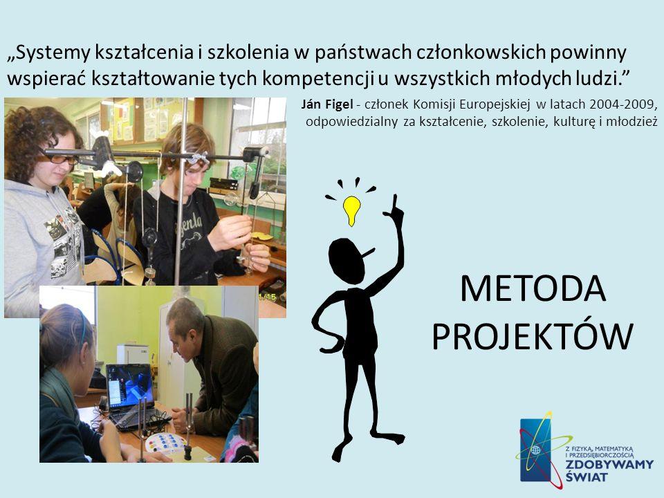 Systemy kształcenia i szkolenia w państwach członkowskich powinny wspierać kształtowanie tych kompetencji u wszystkich młodych ludzi. Ján Figel - czło