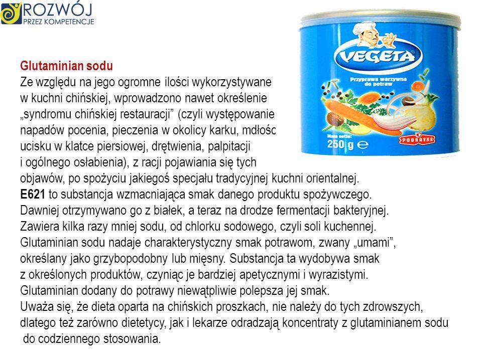 Benzoesan sodu ( E211) to związek organiczny – sól sodowa kwasu benzoesowego. Jest używany jest jako konserwant w produktach spożywczych takich jak wa