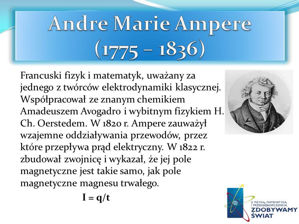 Francuski fizyk i matematyk, uważany za jednego z twórców elektrodynamiki klasycznej. Współpracował ze znanym chemikiem Amadeuszem Avogadro i wybitnym