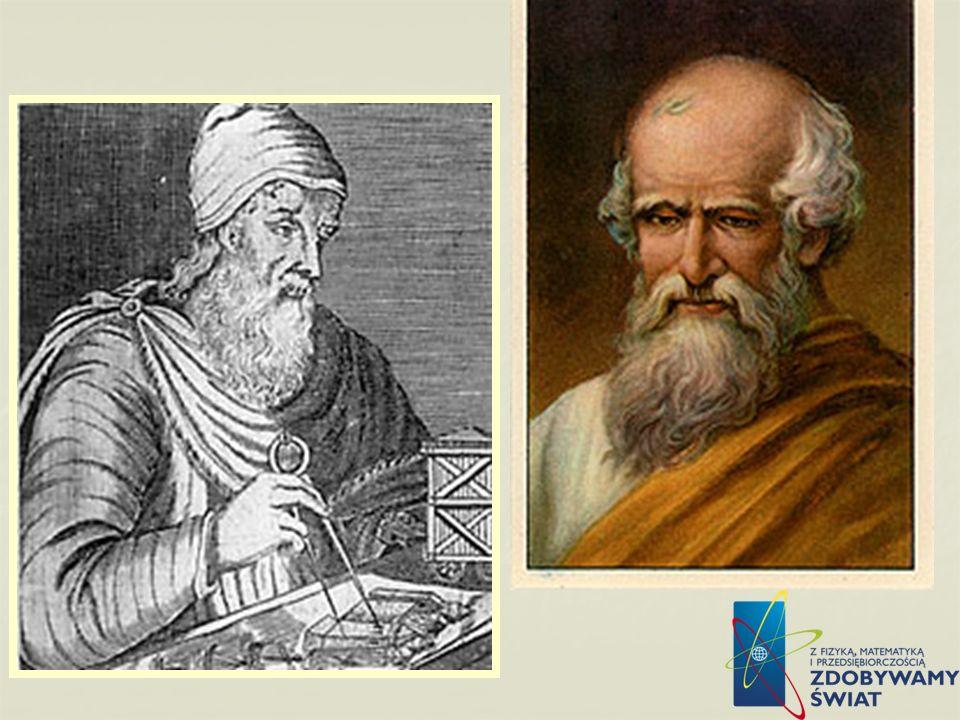 Archimedes 1. Archimedes z Syrakuz ok. 287-212 p.n.e.) – grecki filozof przyrody i matematyk, urodzony i zmarły w Syrakuzach; wykształcenie zdobył w A