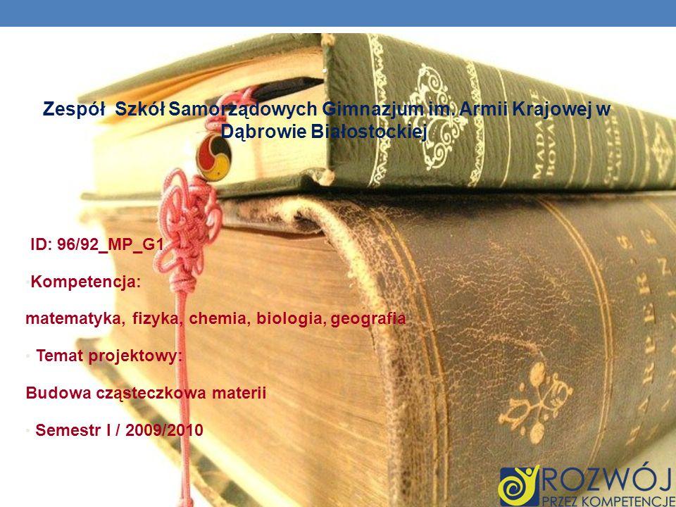 Zespół Szkół Samorządowych Gimnazjum im.