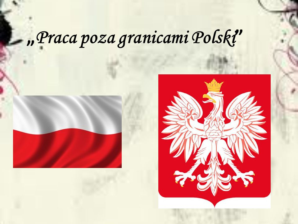 Praca poza granicami Polski