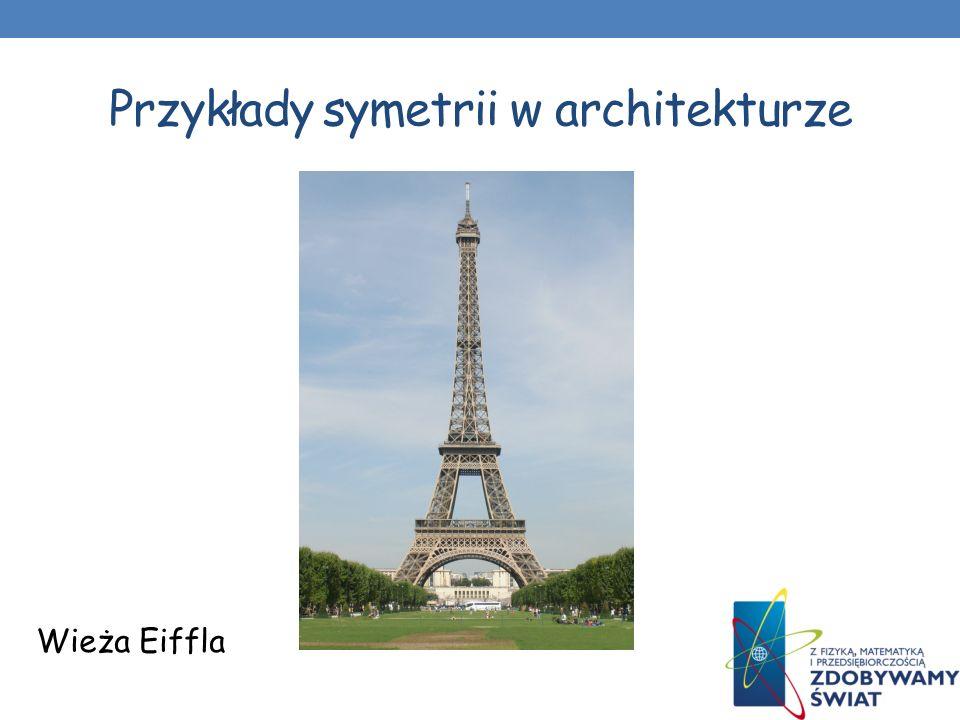 Przykłady symetrii w architekturze Błękitny meczet