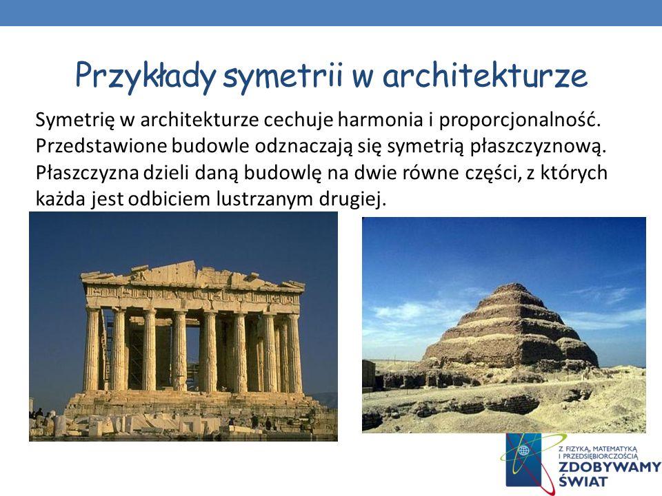 Przykłady symetrii w architekturze Wieża Eiffla