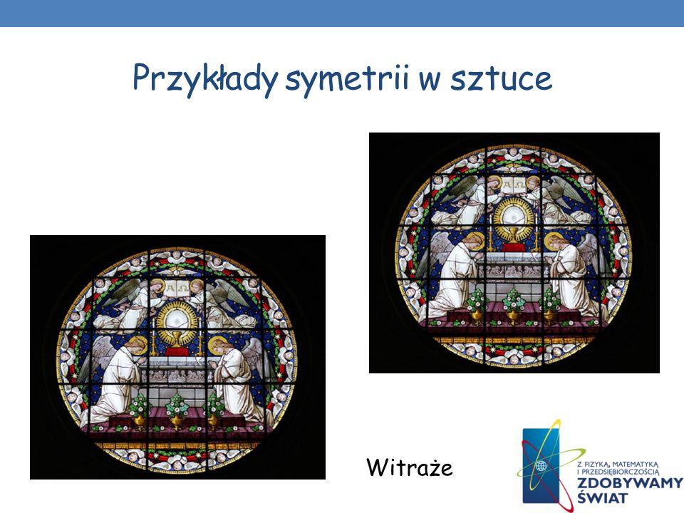 Przykłady symetrii w architekturze Symetrię w architekturze cechuje harmonia i proporcjonalność. Przedstawione budowle odznaczają się symetrią płaszcz