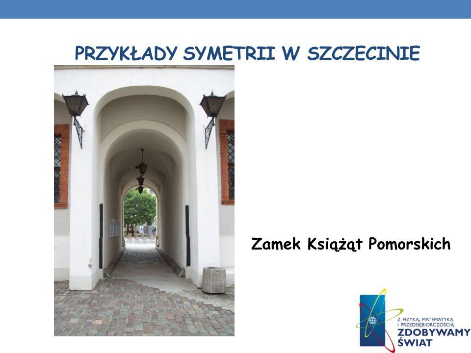 PRZYKŁADY SYMETRII W SZCZECINIE Cmentarz Centralny w Szczecinie