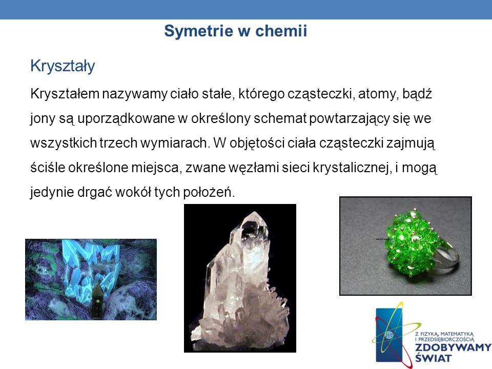 Symetrie w chemii Azotan (V) wapnia – Ca(NO 3 ) 2 Fosforan (V) wapnia – Ca 3 (PO 4 ) 2