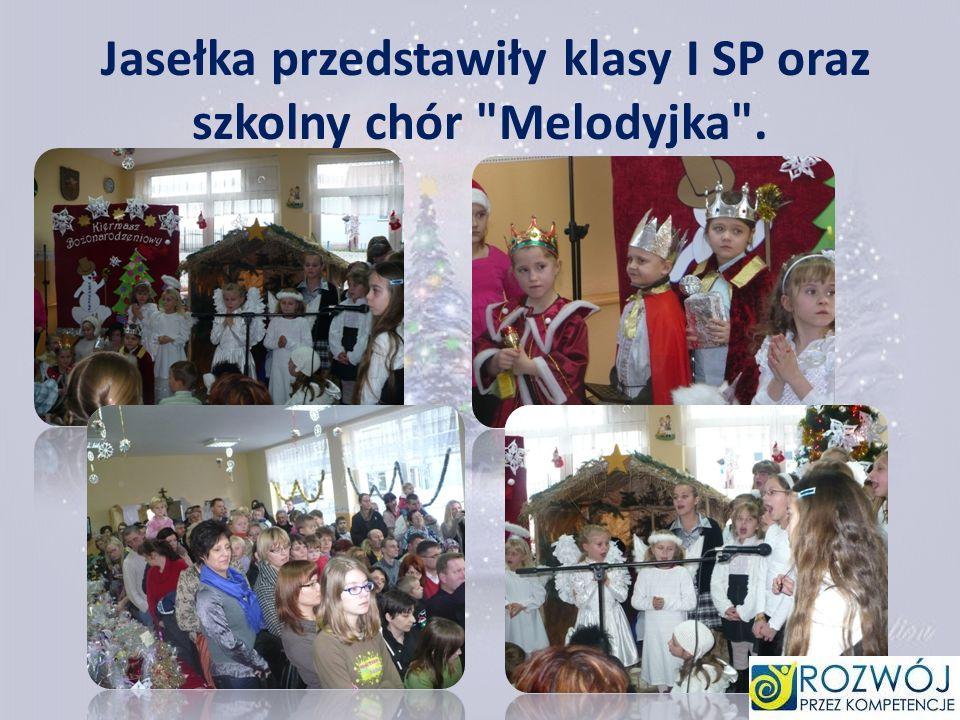 Jasełka przedstawiły klasy I SP oraz szkolny chór